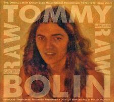Captured Raw: Jams, Vol. 1 [Digipak] by Tommy Bolin (CD, Sep-2013, Glen Holly...