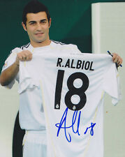 RAUL ALBIOL REAL MADRID SPAIN WORLD CUP 2014 SIGNED AUTOGRAPH 8X10 PHOTO COA