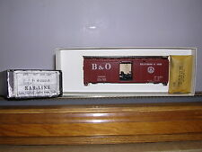 "KAR-LINE #25  Baltimore & Ohio ""B.C.Red"" 40' AAR Sliding Door Box Car #466018"