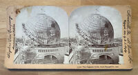 Gigantic Globe, Paris Exposition – Stereoview Slide, Keystone View Company, 1900