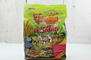 Small Hookbill Bird Food F.M. Brown's Tropical Carnival Natural 3.5 lb New