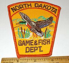 NORTH DAKOTA Game & Fish Department Patch