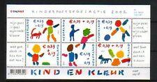 Nederland Blokje 2114 Kind 2002 OP GEWOON PAPIER - *LEES INFO*