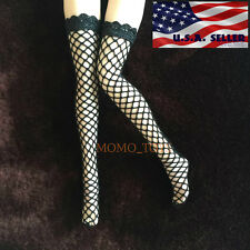 "1/6 Scale Sexy Fishnet Stockings For 12"" Phicen Hot Toys Female Figure USA"