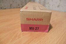 Genuine Sharp Magenta Toner MX-27NTMA New Unopened (NOS)