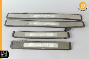03-09 Mercedes W211 E320 E55 Left And Right Side Door Step Sill Sills Set of 4