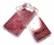 For Samsung Galaxy S8 PLUS - Rose Gold Glitter Stars Liquid Quicksand Water Case