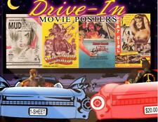 B003 Drive-In Movie Posters Bruce Hershenson, Book, 80 pages of posters