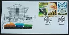 2009 Malaysia Energy Efficient Buildings 3v Stamps FDC (Kuala Lumpur Cachet)