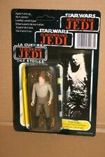 1983 bis 1985 Star Wars Karte Han Solo Carbonite Trilogo factory sealed Back 70