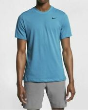 Nike Men's Dri-fit Training T-Shirt Fury Blue Ar6029 Size M New with tag