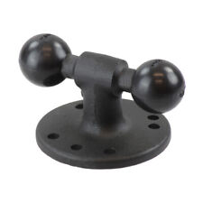 "Ram Double Ball Adapter w/ 2.5"" Round Base"