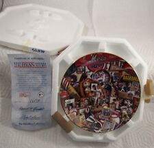 "1996 The Hamilton Collection Nolan Ryan Plate No. 2615A 6 1/2"" Diameter"