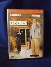 Mr. Deeds (DVD, 2008, Sandler) Like New