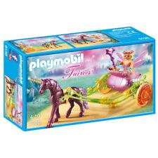 Playmobil Hadas Unicornio dibujado Hadas Carruaje 9136 Nuevo