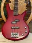 Ibanez Soundgear 4 String Electric Bass Guitar Red for sale