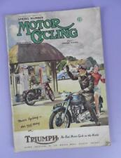 Motor Cycling Magazine March 6th 1952