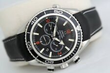 Men's Omega Seamaster Planet Ocean 46mm Cronografo Orologio assiale-Co (2008)
