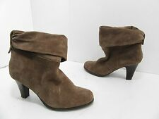 Women's BCBGeneration Cesinaz Suede Ankle Boot Taupe Size 8 B