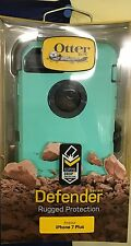 ORIGINAL AUTHENTIC OTTERBOX DEFENDER CASE/ HOLSTER FOR IPHONE 7 PLUS AQUA MINT