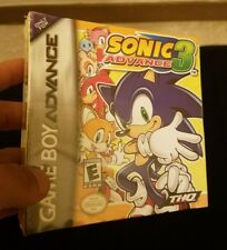 Nintendo Game Boy Advance GBA Sonic Advance 3 Factory sealed