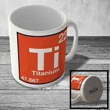 MUG_ELEM_047 (22) Titanium - Ti - Science Mug