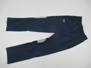 Under Armour Athletic Pants Men's Navy/Gray HeatGear New Multiple Sizes