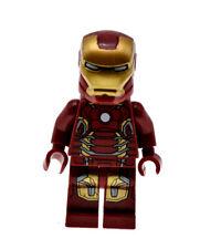 Iron Man MK43 Suit Marvel Super Heroes 76038 76032 sh167 Genuine LEGO Minifigure