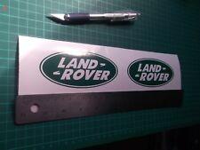 Land Rover logo / badge car vinyl decal sticker .....x4