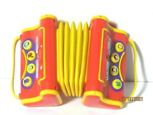 The Wiggles Musical Singing Accordion Play Along Pretend Toy 2004 Instrument