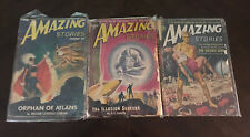 PULP MAGAZINES FOM 1940'S AND 1950'S - 10 PULPS -