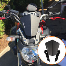 Aluminium Alloy Windshield WindScreen Upper Mount Cover For Yamaha MT07 2013-17