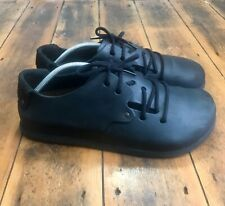 Men's Birkenstock Montana Oiled Leather Shoes LaceUp Black Size UK10.5 EU45 US12