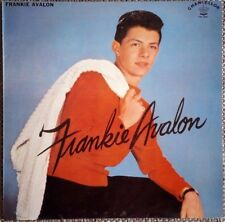 LP  FRANKIE AVALON - FRANKIE AVALON  - RARE TEEN ROCK'N ROLL REPRO LP !!!