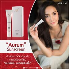 3X Aurum Sunscreen By Aum Patcharapha 15 g. Nano Sun Protection Spf50PA++