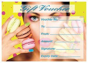 Blank Beauty  Gift Card Beauty/Nail Salons Technicians-x25  PROMO PRICE!