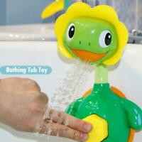 Baby Cute Sprinkler Water Game Bathing Tub Toy Tortoise Shower Faucet Spray Toys