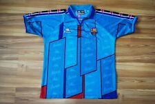 SIZE SMALL VINTAGE KAPPA FC BARCELONA 1995/1997 AWAY FOOTBALL SHIRT CAMISETA