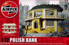Airfix 75015 European Polish Bank Ruin Haus - Resin Modell für Diorama - 1:72