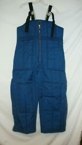 SAMCO Very Warm Bib Overalls Made USA F1000BP Mens Large