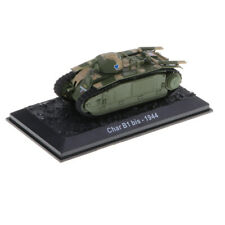 1:72 WWII French Infantry Tank Model Char B1 Bis -1944 Display Collectible