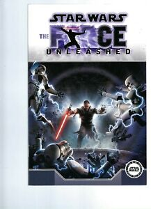 STAR  WARS  - THE FORCE UNLEASHED  GRAPHIC NOVEL   - DARK HORSE