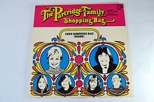 PARTRIDGE FAMILY SHOPPING BAG PRE-OWNED VINYL ALBUM WITH SHOPPING BAG PROMOTION