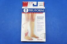 Truform 0845WH-XL X-Large size Compression Stocking Soft Top Open Toe 30-40 mmHg
