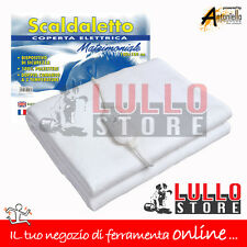 SCALDALETTO SCALDASONNO - COPERTA TERMICA MATRIMONIALE CM. 140X160