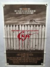 1983 Cujo Steven King Original 1SH Movie Poster 27 x 41 Horror