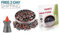 PELLET GUN PELLETS AMMO Red Fire Blister .22 Caliber 125ct Gamo NEW FREE 2 DAY