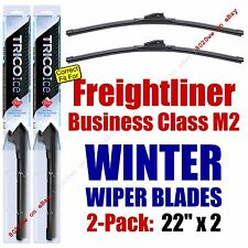 WINTER Wipers 2pk fit 2004-2012 Freightliner Business Class M2 - 35220x2