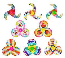 6 coloré rotatif Tops - PINATA JOUET Sachet / Sac de fête mariage/ENFANTS