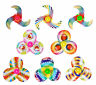 6 Colourful Spinning Tops - Pinata Toy Loot/Party Bag Fillers Wedding/Kids